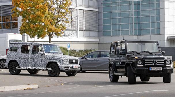 Imagini spion cu Mercedes G-Class 2019. Maşina asta nu a fost gândită să te alinte în vreun fel - FOTO