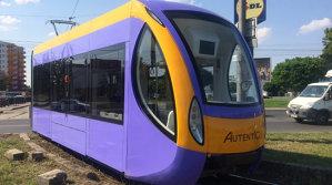 România produce tramvaie. Cât costă şi cât consumă tramvaiul Autentic - VIDEO