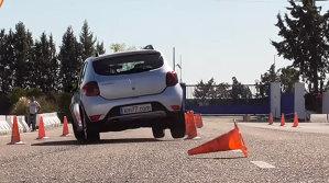 Trece sau nu Dacia Sandero Stepway testul elanului - VIDEO