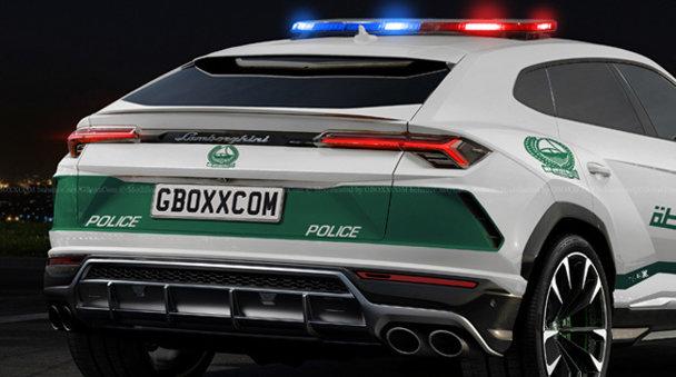 Poliţia din Dubai nu stă pe gânduri: are cele mai rapide maşini de pe planetă. Noul Lamborghini Urus ar putea fi unul dintre ele - FOTO