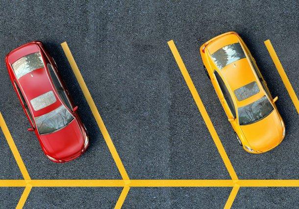 Prima parcare strict interzisă săracilor