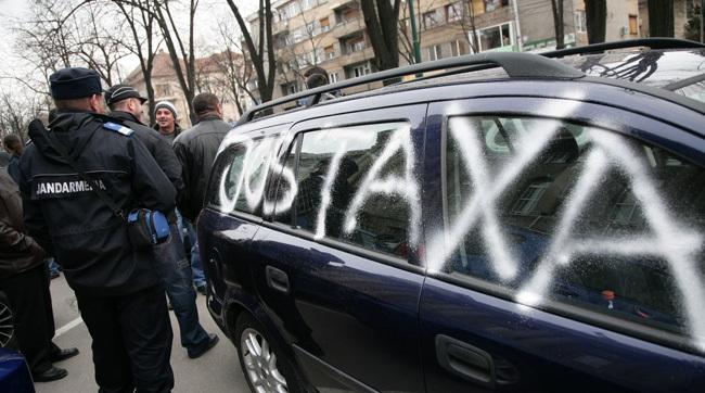 Nouă taxă pentru şoferi. Pentru unele maşini se va plăti şi 200 de euro pe an