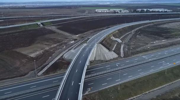 România trebuia să mai bifeze 12 km de autostradă. Inspectorii companiei de drumuri au constatat ... că nu se poate