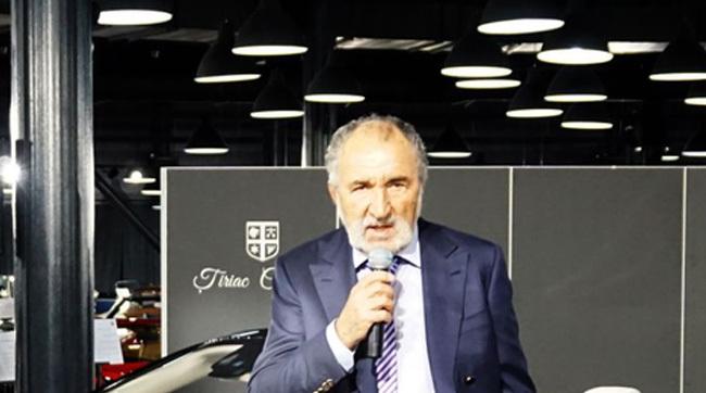 Ion Ţiriac a intrat în posesia unei noi maşini serie limitată. Doar 300 de exemplare au fost produse - VIDEO