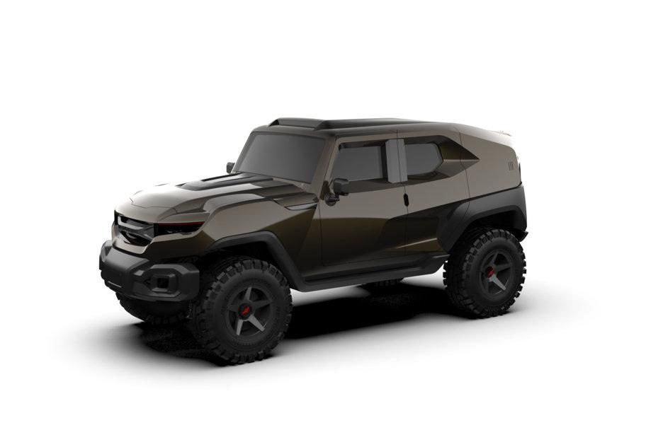ProMotor NEWS: Jamie Foxx şi-a cumpărat cel mai nebun SUV: Rezvani Tank