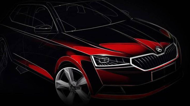E oficial: Skoda Fabia facelift apare luna viitoare
