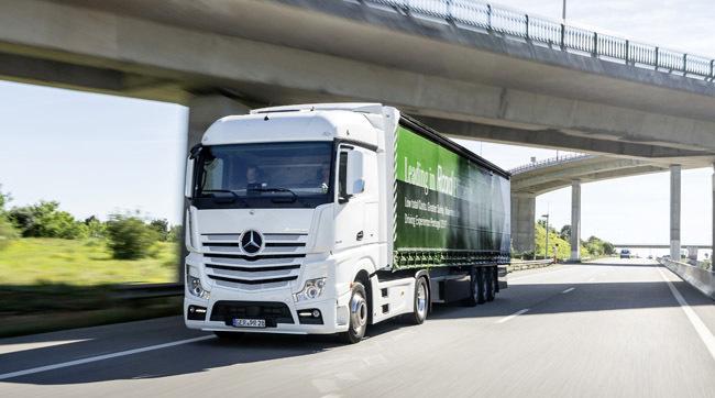 2017 a fost un an de succes pentru Daimler Trucks