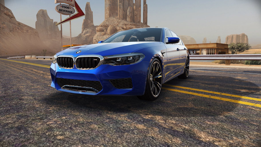 Need for Speed No Limits are o nouă vedetă: Noul BMW M5. Ai şapte zile să-l pilotezi - VIDEO