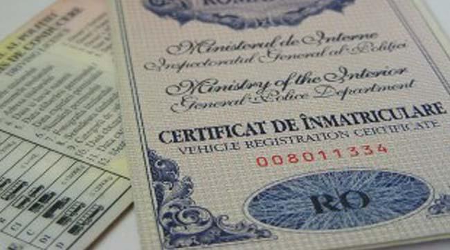 Documentele necesare la schimbarea certificatului de înmatriculare în 2018