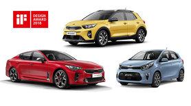 Kia Motors a câştigat trei premii pentru design