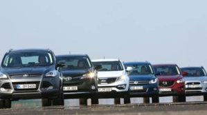 Una din patru maşini vândute anul trecut a fost un SUV. Care sunt cele mai căutate mărci