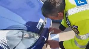 Maşina cu numărul VN 01 suveran. O poveste adevărată cu un şofer care nu recunoaşte actele emise de stat - VIDEO