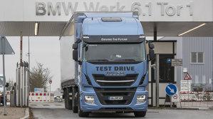 BMW testează camioane cu GNL (gazul natural lichefiat)