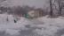 11 minute de drift pe gheaţă şi serpentine cu prăpastie pe ambele părţi (VIDEO)
