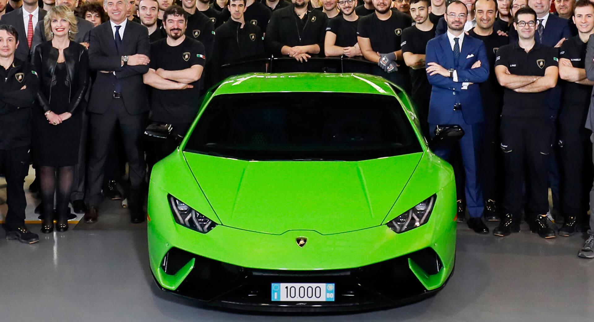 Lamborghini a atins un nou record de producţie. Fabrica din Sant'Agata Bolognese duduie