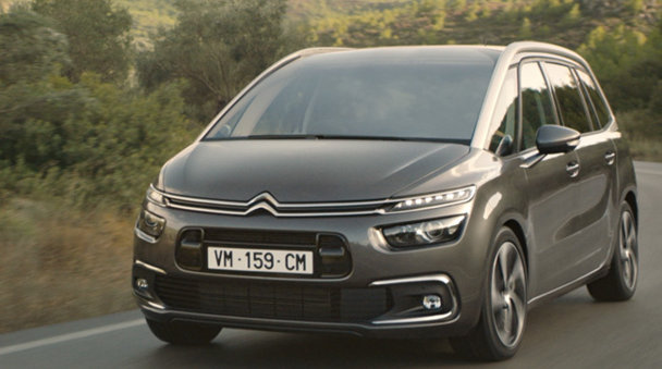 Citroen C4 Picasso devine Citroen C4 Spacetourer - VIDEO