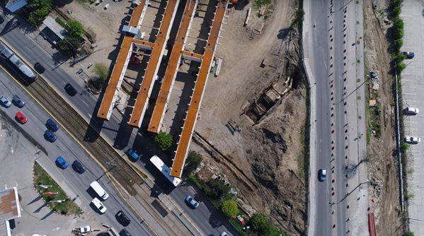 Imagini cu şantierul străpungerii Ciurel-Autostrada 1. Este cel mai scump proiect de infrastructură din istoria Capitalei - VIDEO