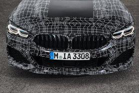 Noul BMW Seria 8 Coupe a ieşit la plimbare pentru ultimele retuşuei - VIDEO