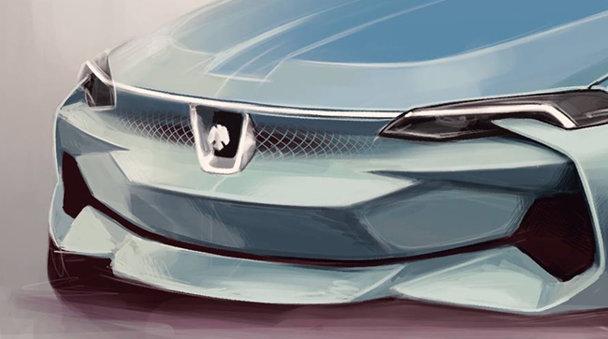 Bine ai revenit Dacia Braşovia! Conceptul verii este desenat de un puşti de clasa a 12-a - FOTO