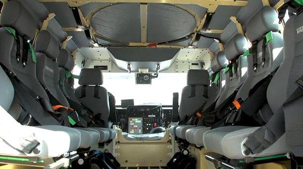 Cum arată blindatul austriac HMV, de 12 tone, pentru Jandarmerie - VIDEO