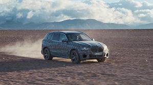 De la Cercul Polar până în Africa de Sud, noul BMW X5 are viaţă grea la teste - VIDEO