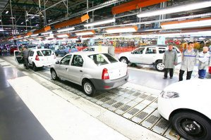 Klaus Iohannis, atac la Guvern, de la uzina Automobile Dacia