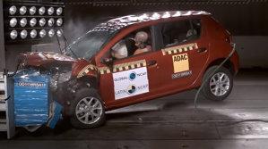 Renault Logan şi Sandero obţin rezultate dezamăgitoare la testele Latin NCAP - VIDEO