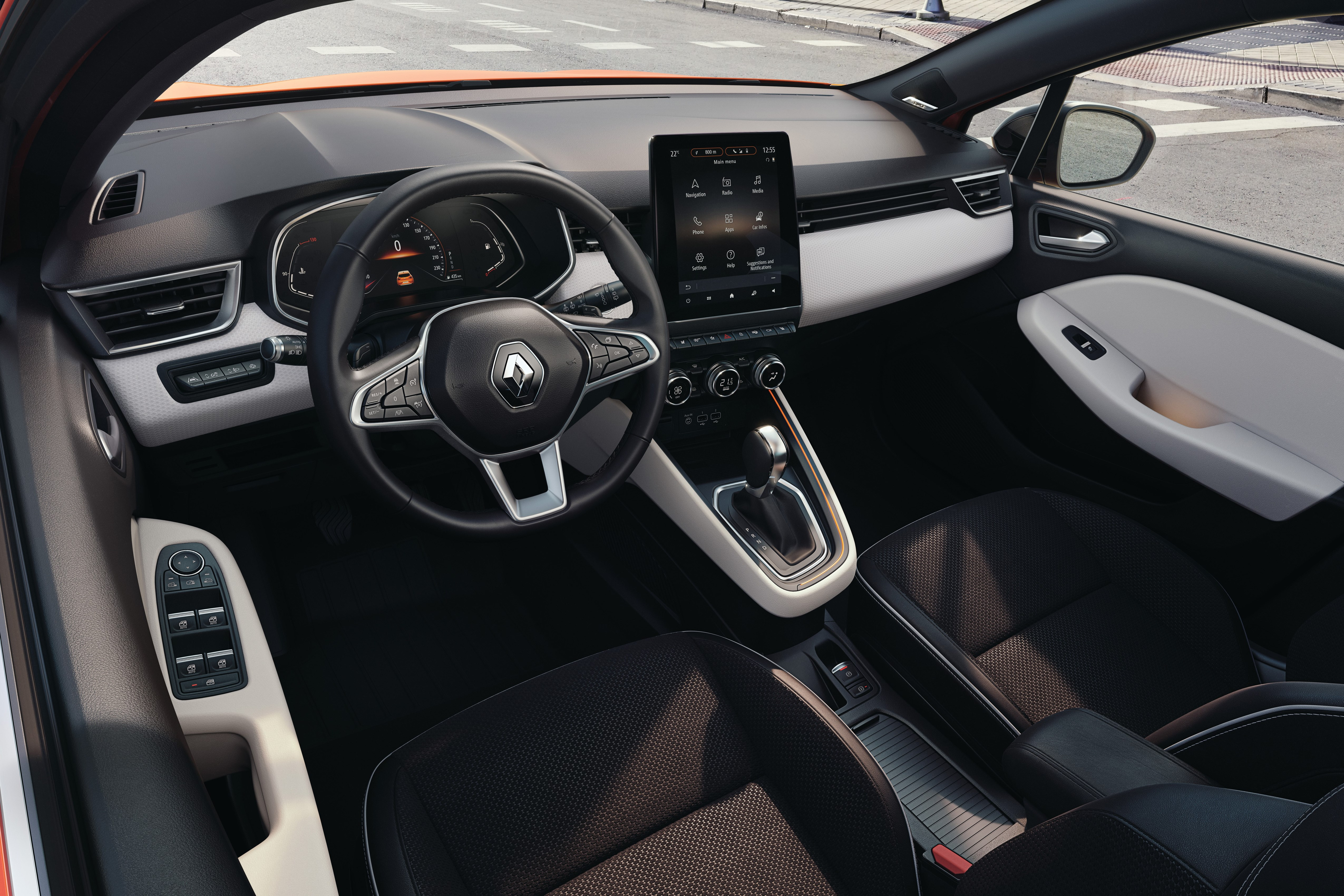 The New Renault Clio The French Bestseller Features A 93 Inch