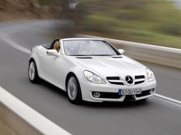 Facelift Mercedes Benz SLK