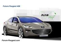 Peugeot 408 - speculaţii