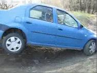Dacia SUV: Logan în offroad