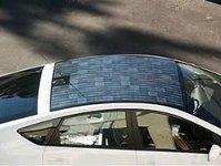 Toyota Prius cu panouri solare