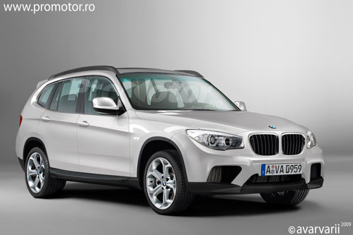 Noul BMW X3 va avea o parte frontala agresiva si un stil apropiat de al lui BMW X1.