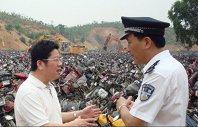 motociclete distruse, China