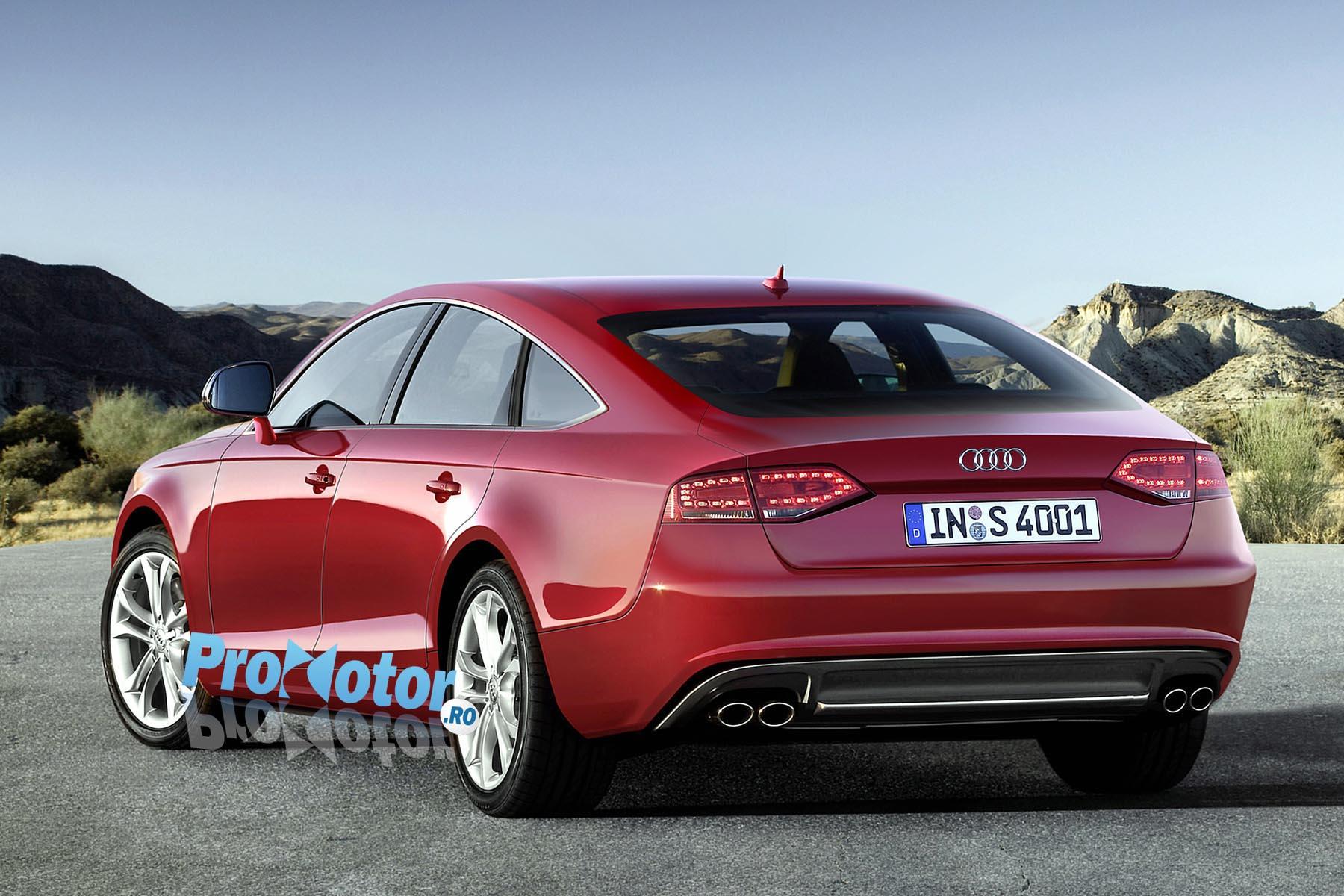 Imagini Audi A7 Speculaţii