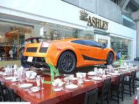 Lamborghini Gallardo la o cană de ceai