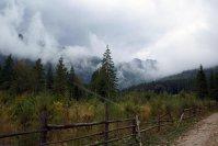 Vremea la munte - foarte schimbatoare