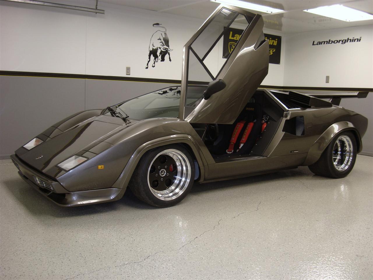Lamborghini Countach Replica Din Beci