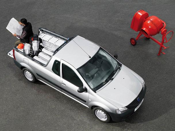 Dacia Logan Van şi Pick Up lansate în Vest