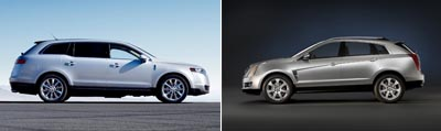 Lincoln MKT vs. Cadillac SRX