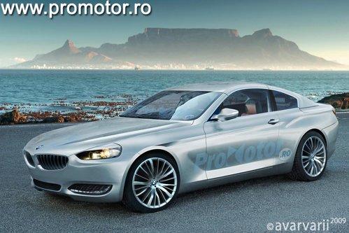 BMW Seria 6 se va inspira din conceptul BMW CS