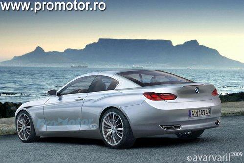 Noul BMW Seria 6 Convertible va avea hardtop escamotabil