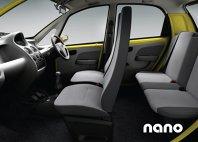 Tata Nano - interior