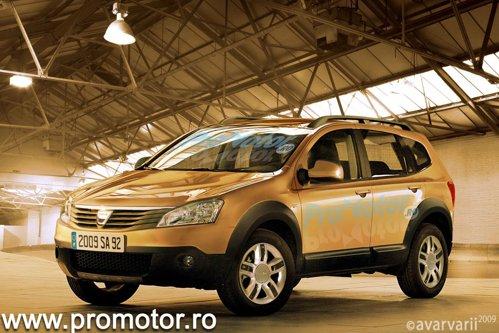 Dacia SUV are mari sanse sa fie bazata tehnic pe platforma lui Nissan Qashqai