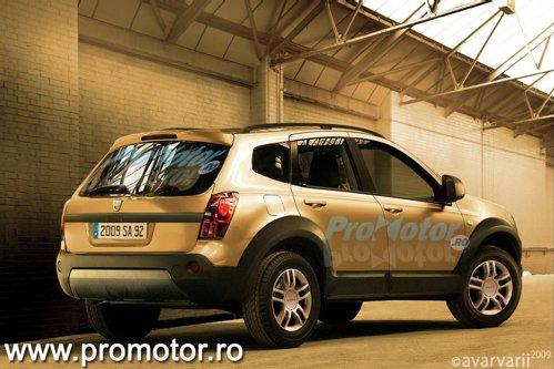 Dacia SUV urmeaza sa puna accentul pe caracterul practic
