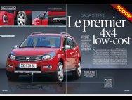 Dacia SUV - schiţe franţuzeşti