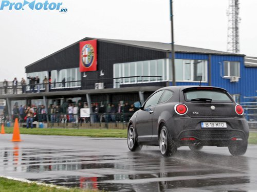 Alfa Romeo MiTo este cea mai sportiva din clasa sa in acest moment