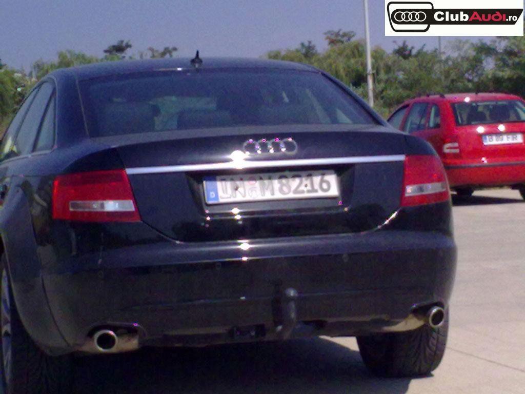 Imagini Audi A6 Spionat 238 N Rom 226 Nia
