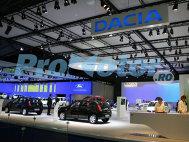 Standul Dacia - vezi noutăţile Dacia la Frankfurt 2009