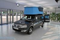 Van Activity, dar nu in standul Dacia